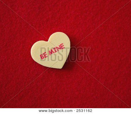 Conversation Heart - Be Mine