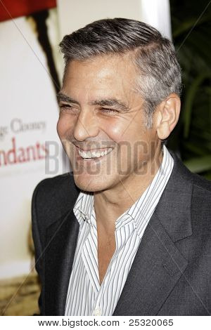 LOS ANGELES - NOV 15:  George Clooney arrives at
