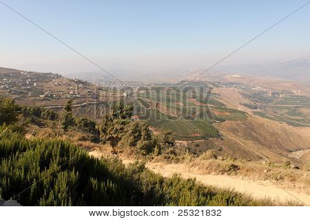 Golan Heights View. Israel