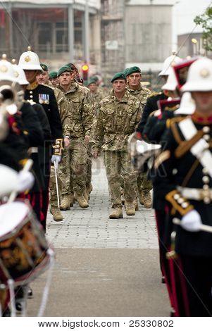 Pessoal de Brigade de 3 Commando