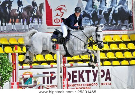 Rider with a Show Jump Horse