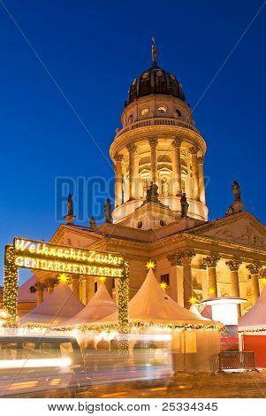 Christmas Market Berlin Gendarmenmarkt