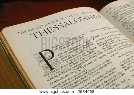 Libros de los Biblia segundo de Tesalonicenses