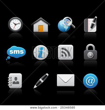Web icons, communication