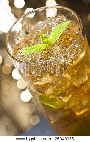 Mint-julep Cocktail