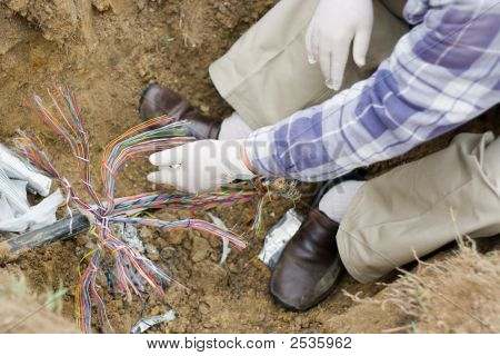Telephone Cable Repair