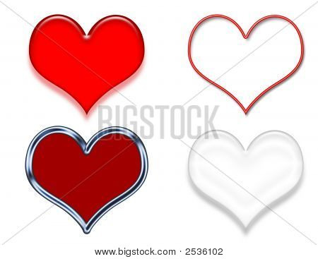 Heart Clip Art Samples
