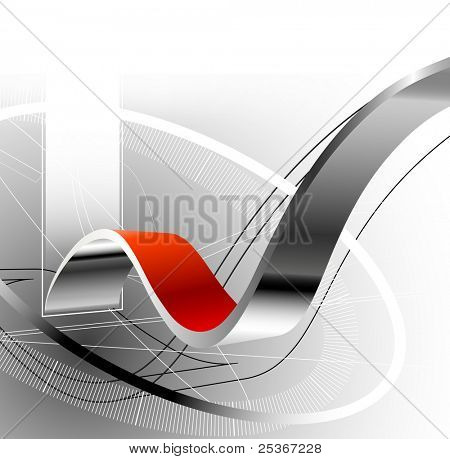 3d hi-tech abstract background