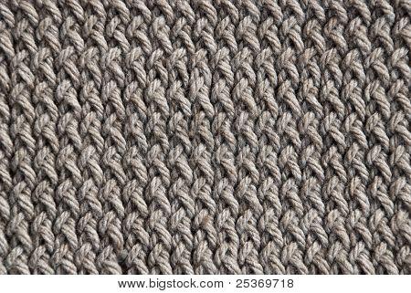 Criss cross stitch wool pattern