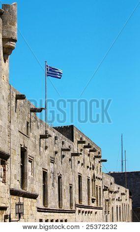 Greece. Rhodos Island. Old Rhodos Town