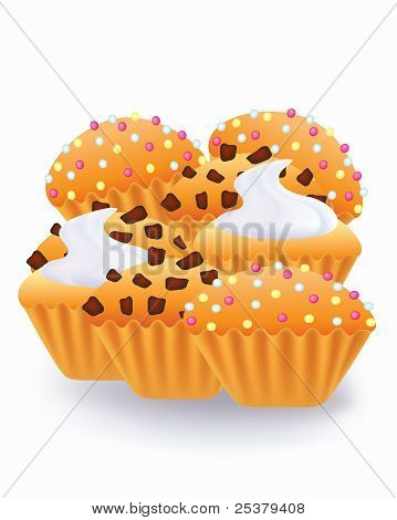 Muffins and cup cakes