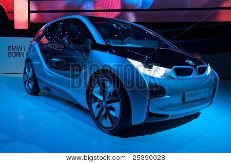 Bmw I3C Oncept Car