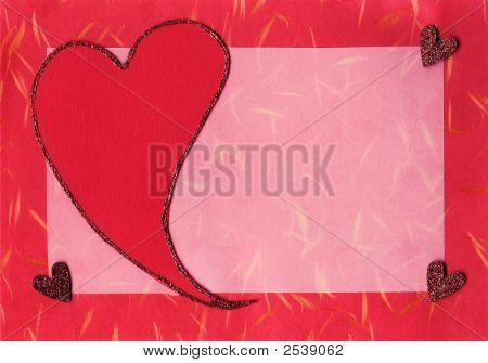 Valentine Scrapbook Card