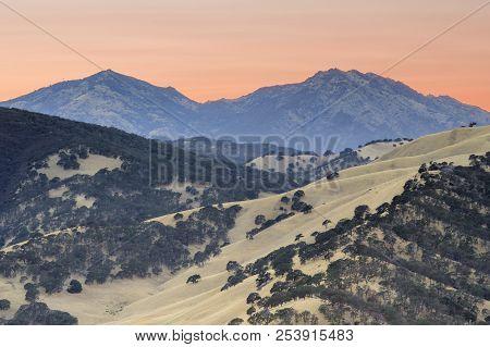 Mount Diablo As Seen From