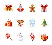 picture of rudolf  - Christmas icons - JPG