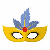 Carnival Icon. Flat Illustration Of Carnival Icon For Web poster