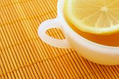 Teatime. Cup Of Tea With Lemon poster