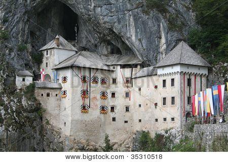 medieval Predjama castle