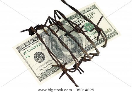 One Hundred Dollars And Barbed Wire