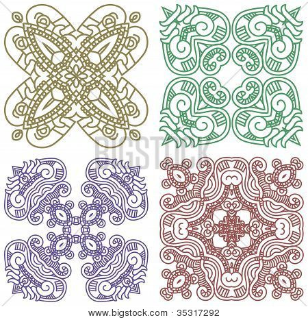 Ornamental ethnicity pattern