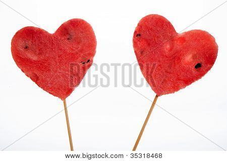 Two Watermelon Heart