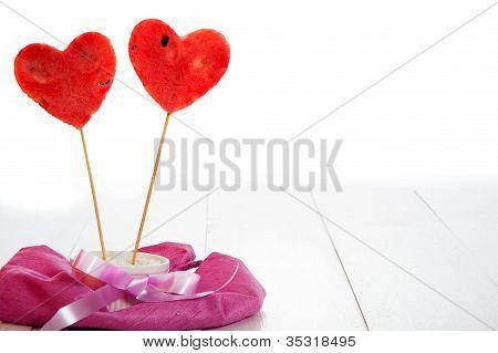 Two Watermelon Heart