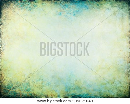Yellow Blue Glowing Background