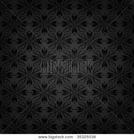 Floral vector texture