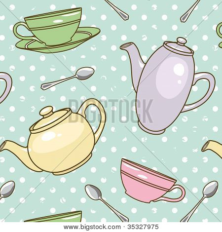 Teapot-pattern