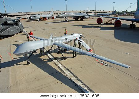 MQ-1 Predator Drone on display