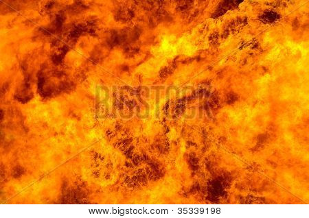 Abstract background. Fire flame