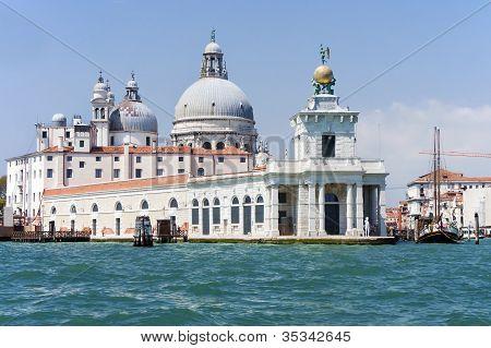 Venice, Punta della Dogana. Italy.