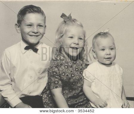 Vintage Kids Photo