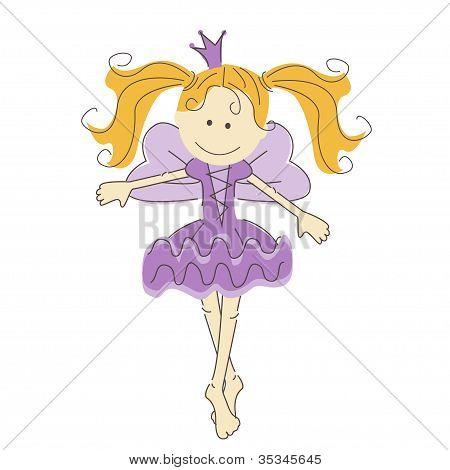 Little dancing princess