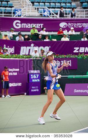 Daniela Hantuchova Returns Forehand