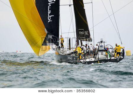 Abu Dhabi Ocean Racing Downwind