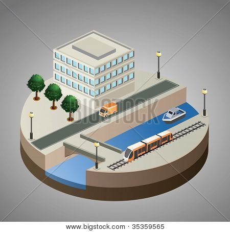 Vector Isometric View