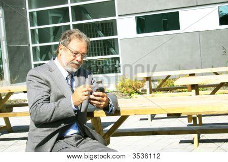 Senior Business Man