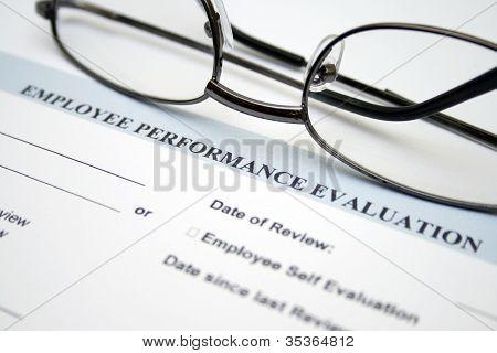 Avaliação de desempenho do empregado