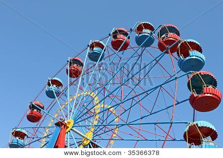 Big Wheel Over Blue Sky