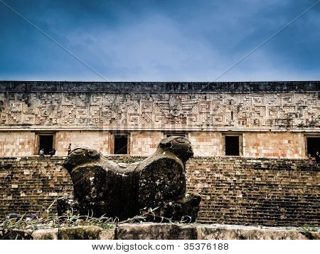 Uxmal Archeologycal Site