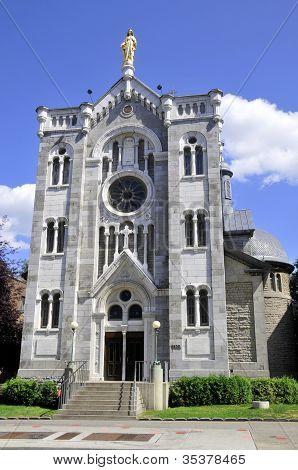 Notre-Dame-de-lourdes Chapel Montreal, Quebec, Canada