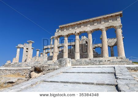 Ancient temple in Greece