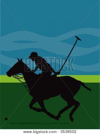 Polo Pony Silouette