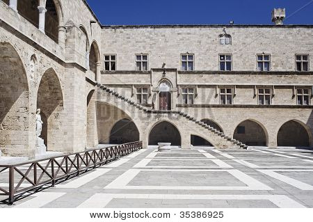 Grand Master's Palace In Rhodos