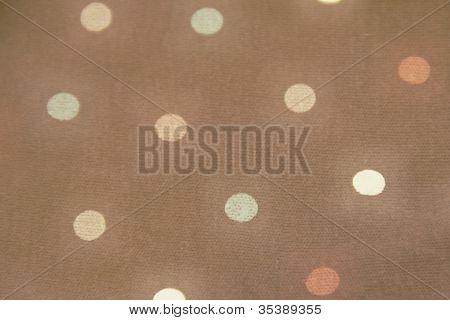 Retro Dot fabric background