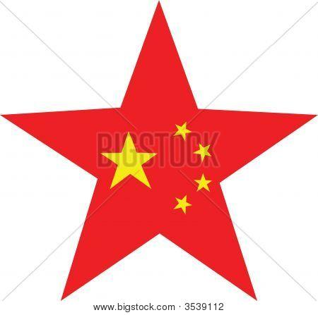 China Flag Star
