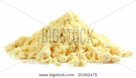 Gram flour made of chickpeas