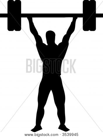 Bodybuilding Weight Lifter
