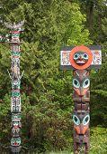Historic Totem Poles poster
